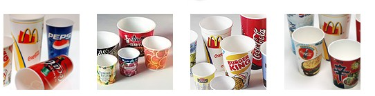 145 pcs/Min Hot Air Sealing High Speed Paper Cup / Bowl Machine For Cold Drink