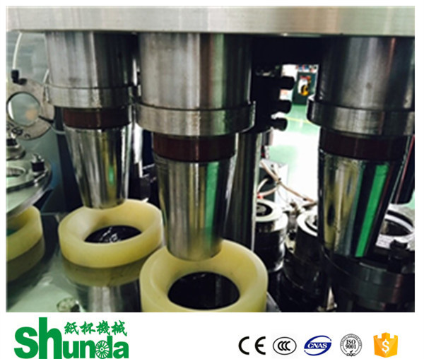 Stable Hot Drink Paper Cup Machine Professional For Coffee / Tea Cup