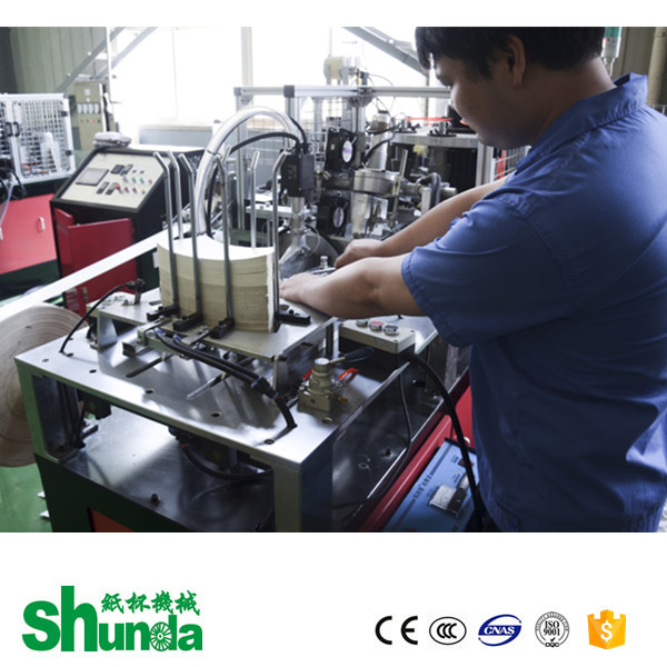 Paper Coffee Cup Making Machine, qualitfied 3 year warranty paper cup making machine