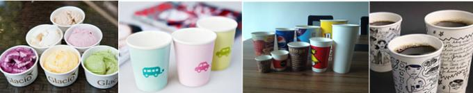 Automatic single and double PE Coated Paper Cup Forming Machine For Hot / Cold Drink cups with Hot Air System