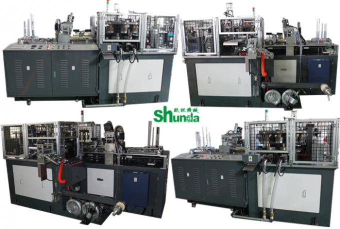 70-80 Pcs / min Auto High Speed Paper Cup Forming Machine For Pop Corn