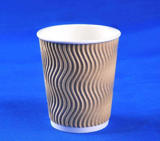 Coffee or Tea Shop Use Paper Cups Double Wall Corrugated Paper Cup Making Machine High Speed