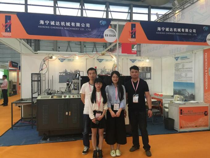 CE Certificated Paper Noodle Box Doner Box Making Machine With Hot Air and Ultrasonic Device