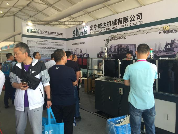 Production Speed 80 Disposable Paper Material Kebab Box Making Machine