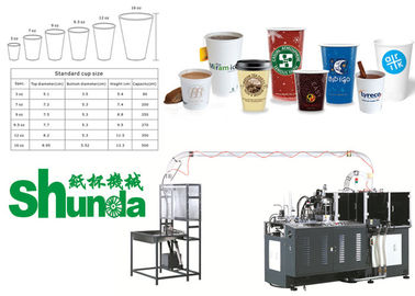 China Automatic Paper Cups Manufacturing Machines Coffee Tea Ice Cream Cup Making supplier