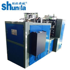 China 50HZ 4.8KW Paper Cup Forming Machine , Single Or Double PE Paper Cup Making Machine Hot Or Cold Drink Cups supplier