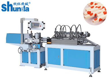 China Customized Paper Made Drinking Straw Tube Forming Machine PLC Control System supplier