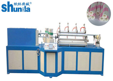China Multi Blades Designed Paper Tube Forming Machine 40 Meters Per Minute supplier