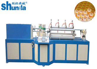 China Environmentally Friendly High Speed Paper Tube Machine With Multi - Blades Cutting supplier