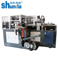China Full Automatically Paper Tube Forming Machine , Max Cup Height 220mm supplier