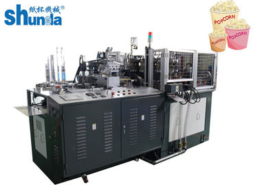 China 70-80 Pcs / min Auto High Speed Paper Cup Forming Machine For Pop Corn supplier