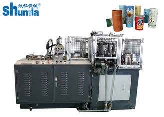 China fully Automatic OEM / ODM Car Tissue Case Holder Paper Tube Forming Machine 12KW,380V/220V,60HZ/50HZ with ultrasonic supplier