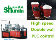 China Durable Ice Cream / Coffee High Speed Paper Cup Machine 4 Tons factory