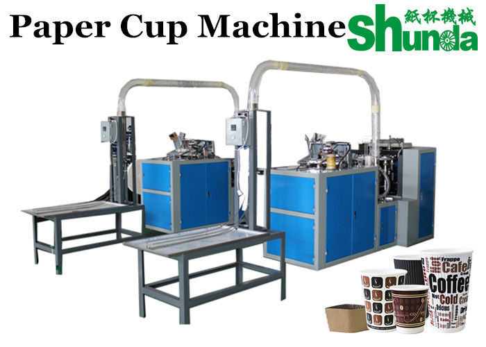 Counting Table disposable cup making machine For Hot And