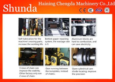 China Durable High Speed Paper Cup Machine , Self - Lubrication Paper Cup Forming Machine factory