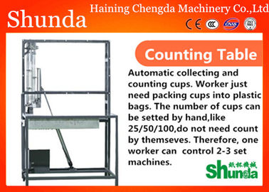 China Automatic Paper Cup Collector Vision Inspection For High Speed Machine distributor