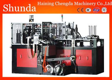 China 60hz 16kw High Speed Paper Bowl Making Machine With Ultrasonic / Hot Air Sealing distributor