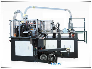 China Professional High Speed Paper Cup Machine Ultrasonic And Hot Air System distributor