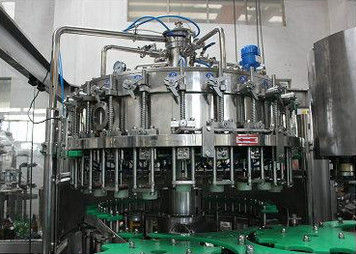 Glass Automatic Bottle Filler Liquid Filling Machinery High Precision