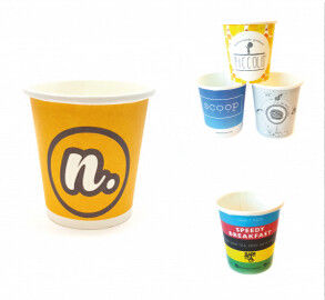 China 100-120pcs/Min Hot Air Sealing High Speed Paper Cup / Bowl Machine For Cold Drink distributor