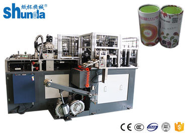 China Ultrasonic Seal Paper Tube Forming Machine , Max Cup Height 220mm distributor