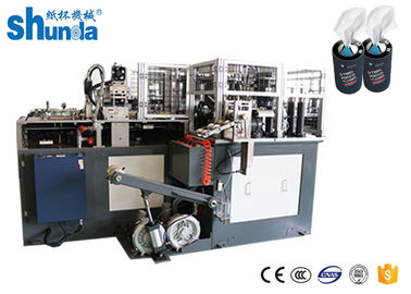 China Precision Straight Cup Forming Machine / Decorative Napkin Box Making Machine distributor