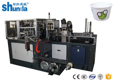 China 3.4 Ton Automatic Paper Bowl Making Machine , 80 Bowls Per Minute distributor