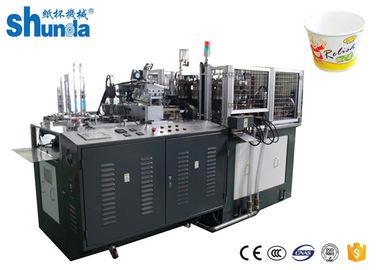 China Small Pe Coated Paper Bowls Making Machine Speed 70 - 80 pcs/min distributor