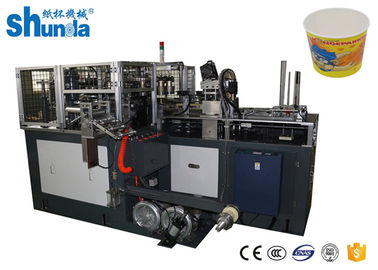 China Fashion Disposable Paper Bowl Forming Machine 380V / 220V 60HZ factory