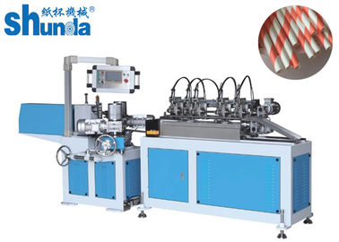 China Environmentally Friendly High Speed Paper Tube Machine With Multi - Blades Cutting distributor