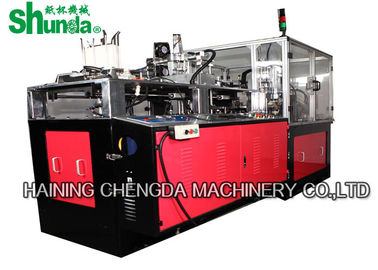 China High Efficiency Double wall Paper Cup Sleeve Machine 2500  ×1800 ×1700MM factory