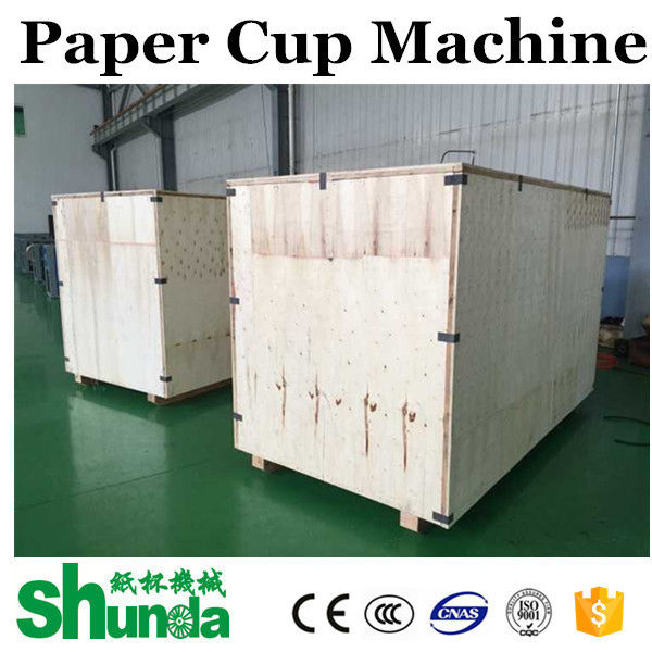 Hot Drink High Speed Paper Cup Forming Machine Hot Air System